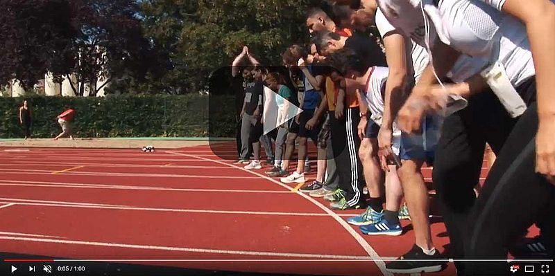 [Translate to english:] Video zum Sportfest beim GPB College