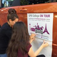 GPB College on Tour Aufkleber